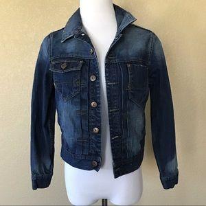 Pre-Owned CODY JAMES Medium Wash Denim Jacket Sz S